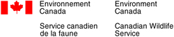 Environnement Canada – Service canadien de la Faune
